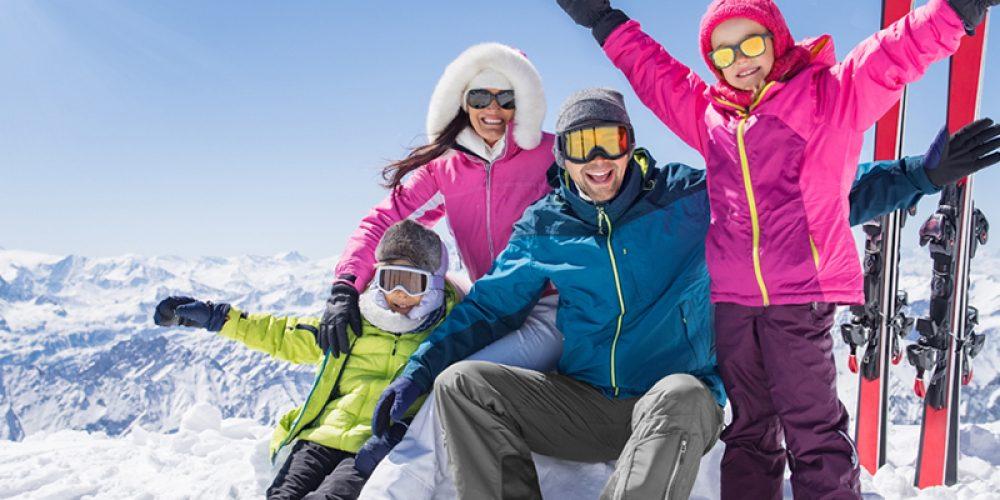 Passer des vacances en pension complète au ski