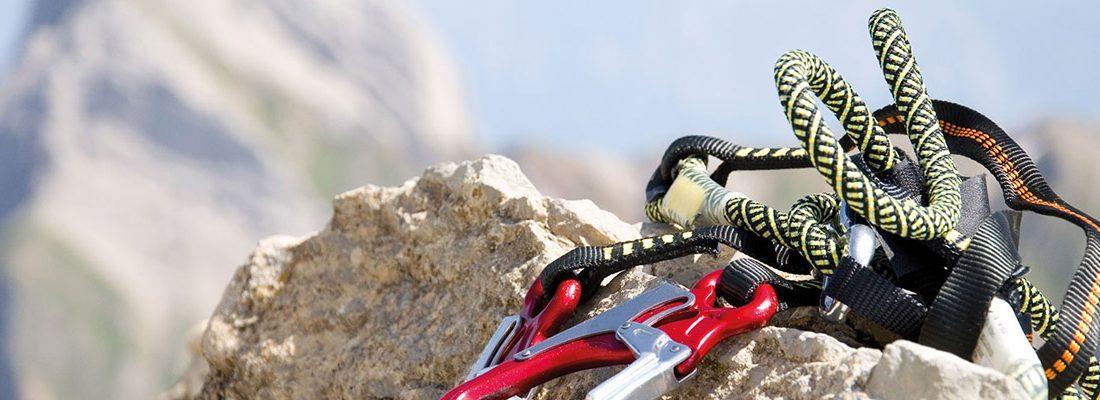 Quel type de corde est utilisé en escalade ?
